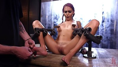FLOOD: Submissive Women Romp in Metal and Made to Squirt