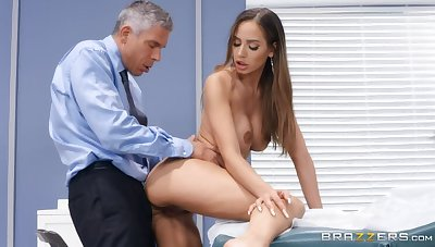 Canny sexual intercourse video featuring Mick Blue and Desiree Dulce