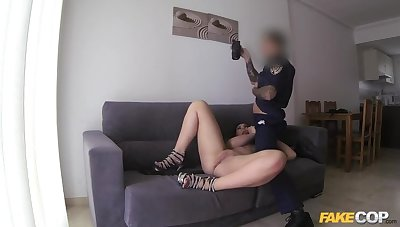 Busty Brit Fucked to Spain