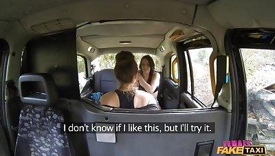 British Spanish Lesbian Taxi Fun