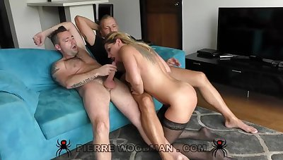 Angel Rivas - XXXX - To relating to porn again with a threesome