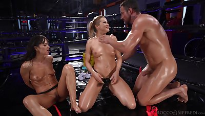 Cherry Coupled with Anal Threesome With Cherry Kiss, Joel Tomas Coupled with Alyssa Reece