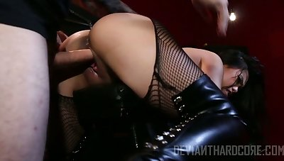 Sexy and horny Vietnamese nympho Cindy Starfall is fucked doggy hard