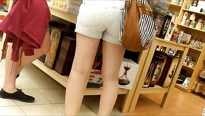 CANDID TEEN Brim-full with SHORTS 9