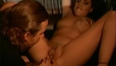Paragon babe in thigh uppity Historical coachman in anal toying added to fucking orgy