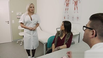 Son Visits The Doctor & Nurse