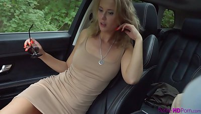 Sexy babe Jeva will never exile oneself hot lesbian situation
