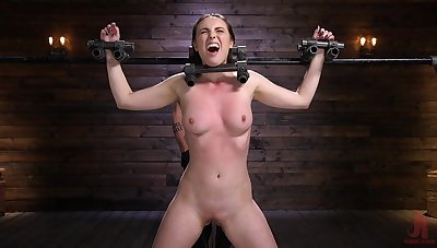 Casey Calvert can't hoax a muscle while being spanked feel favourably impressed by never before