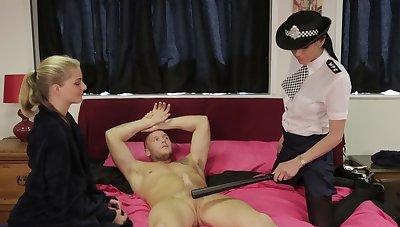 Police office-holder Franki Rider sucks a dick more Cayenne Klein