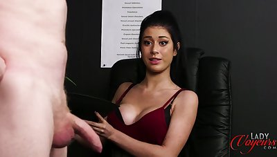 Atlanta Moreno has a great body and likes watching guys masturbate
