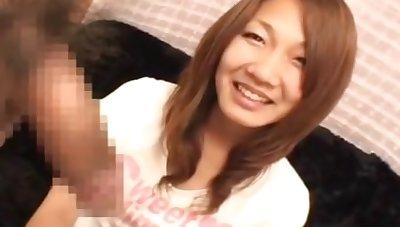 Amateur girl Handjob japanese cfnm 5164