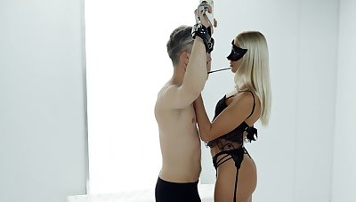 Mistress dominates added to gets laid in charming XXX action