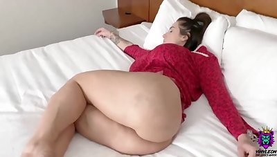 Lovely neonate with abounding in assets is getting assfucked in the middle of the day and enjoying it