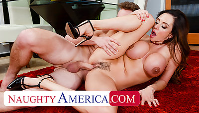 Naughty America - Ariella Ferrera gets her pussy filled