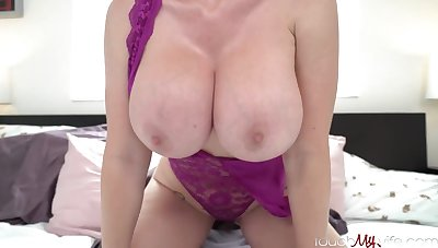 Mind-Blowing platinum-blonde mature with reference with thick, fast titties, Casca Akashova loves with have fucky-fucky with reference with highly fantastic studs